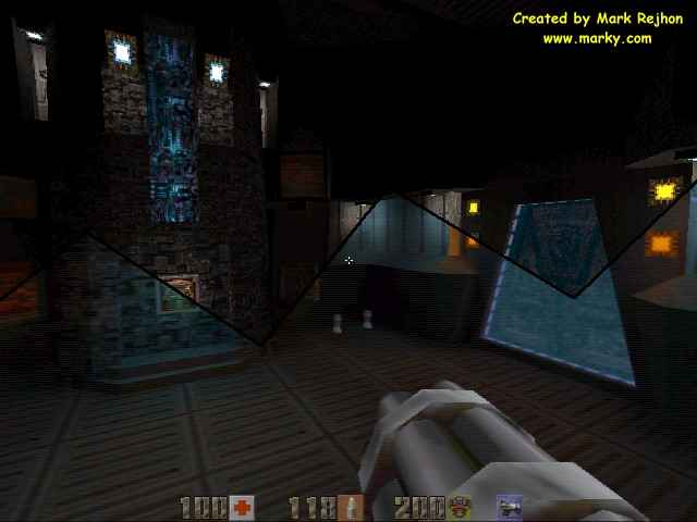 quake 2 graphics comparison  svga vs  3dfx opengl